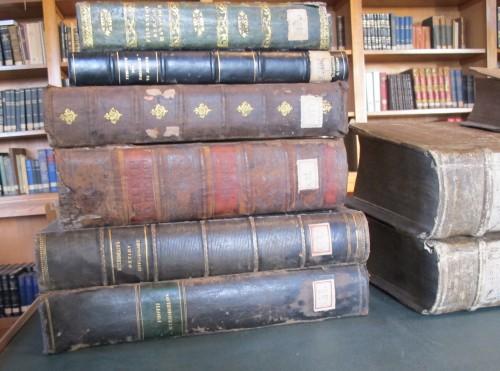 Les imprimés de la bibliothèque de la Sainte-Trinité (à l'École théologique)