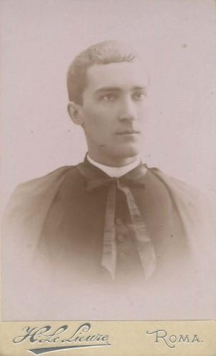 Pierre Batiffol, Rome, printemps 1887 © Compagnie des Prêtres de Saint-Sulpice