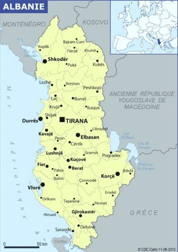 L'Albanie aujourd'hui