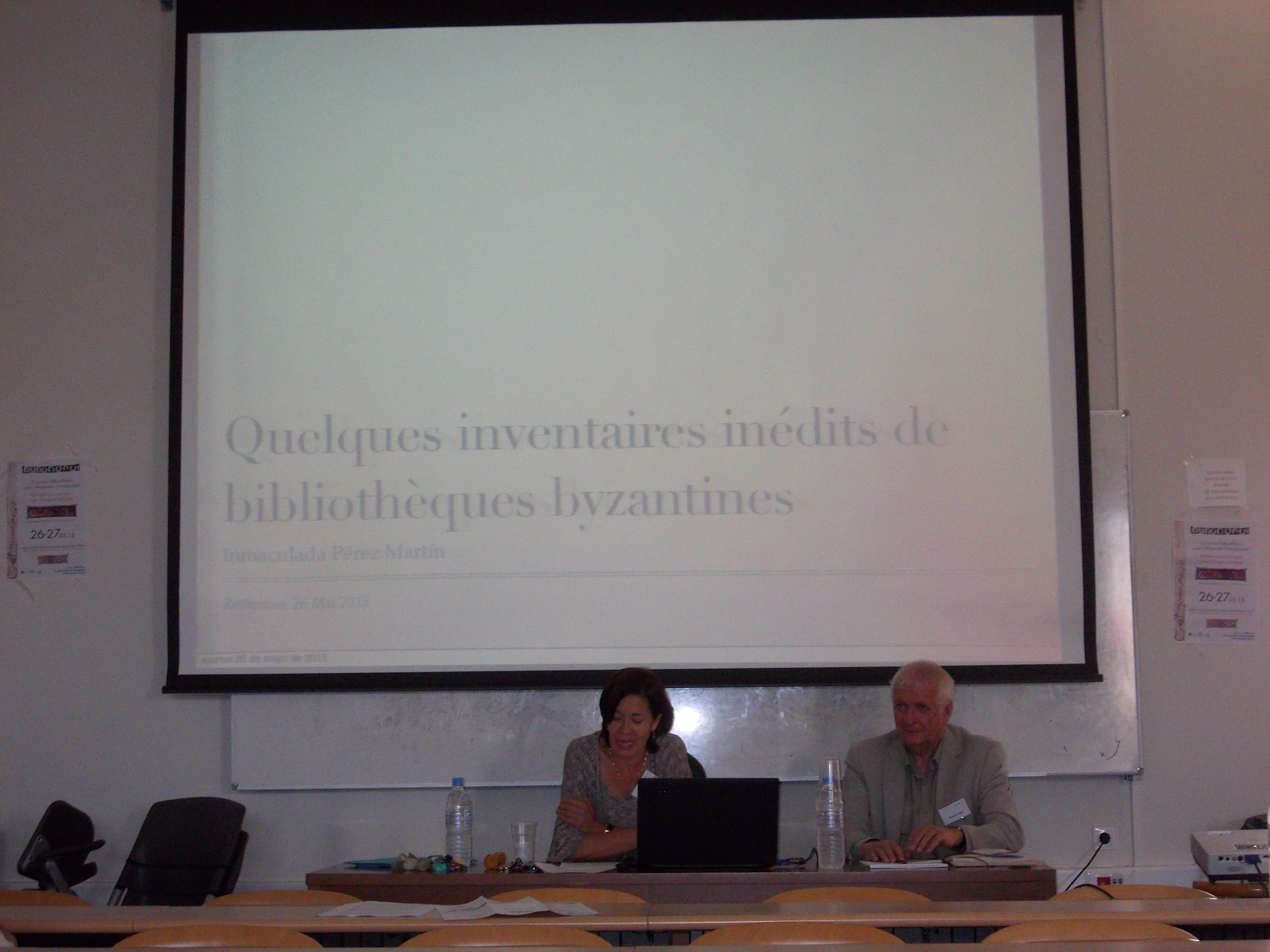 Inmaculada Pérez-Martín, Bernard Flusin