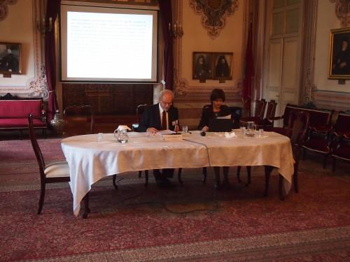 Conférence du prof. Dimitris Apostolopoulos