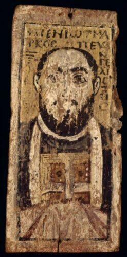 Icône de Saint Marc. Paris, BnF Inv. Froehner. 1129a.