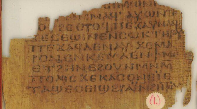 L'évangile de Marc en copte sahidique : bilan d'une recherche au long cours (suite)